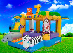 jumping castle/ inflatable residential bounce round for home use giant inflatable water slide /inflatable castle /inflat
