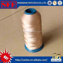 Industry high quality sewing thread acid resistant fiberglass sewing thread