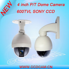 Hot cake!! Anglog ccd 600tvl mini ptz security speed dome 360 degree outdoor camera