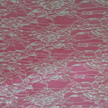 2015 new nice plain dyed super soft touch nylon lace fabric for garment
