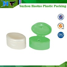 china 22mm neck plastic shampoo cap