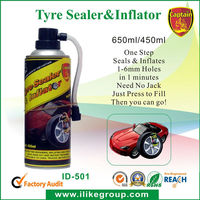Tyre Seal Emergency Puncture Repair & Inflator Car & Bike Tyreweld