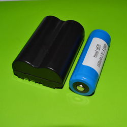 IEC62133 UL UN38.3 ISO9001 SGS Approved 18500 3.7v 1500mah li-ion battery