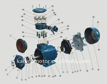 Spare parts of Explosion proof motor ce ul gost anp