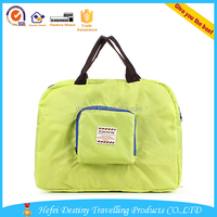 hot sale waterproof sports duffel folding travel bag round