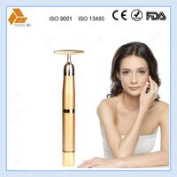 2015 hotsale portable 24k gold lip beauty product