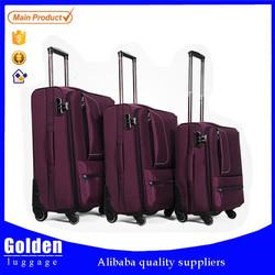 China Baigou new products luggage set wholesale fashion designed travel luggage trendy unique trolley luggage set