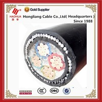 Construction Application 4 cores power cable 4 x 10mm2 4 x 16mm2 4 x 25mm2 0.6/1kV Low Voltage cable
