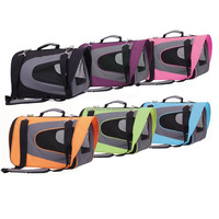 portable soft pet carrier bag soft dog cage easy to clean