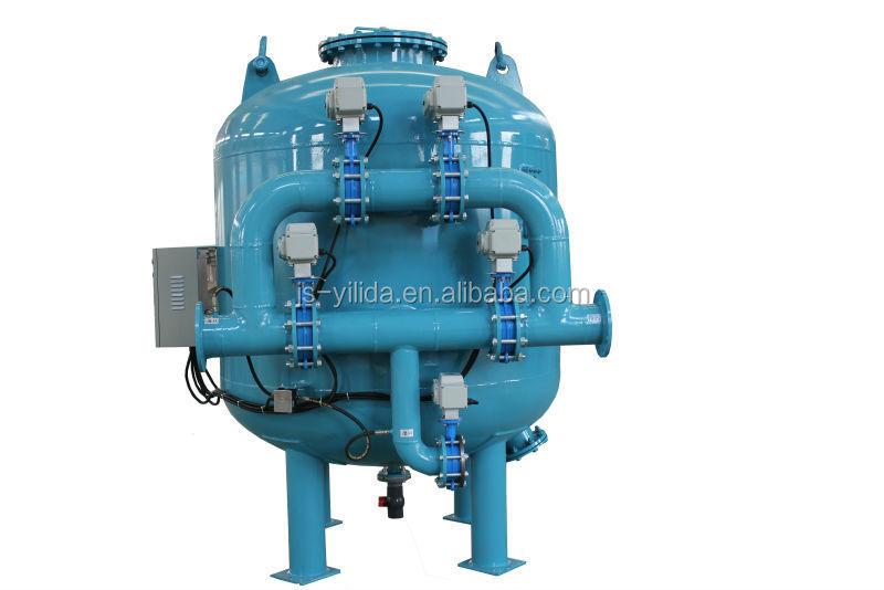 Охлажденной воды система управления автоматический обратной мелкая песок фильтр