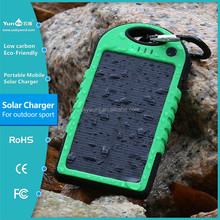 Promotional 12000mah Solar Charger Powerbank for Cell Phone IP06 Waterproof