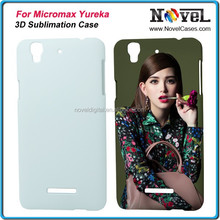 New 3D Blank DIY Cell Phone Case for Micromax YU Yureka AO5510, 3D Sublimation Case