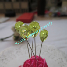 China Supplier 70mm Unique Yellow Transparent Decorative Pins for Gifts & Crafts