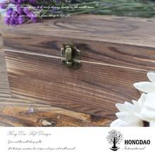 HONGDAO Professional custom brown wooden storage boxes