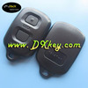 2 button remote plastic key cover for Toyota remote control case toyota remote key case