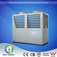 15kw heat pump factory direct sale low cost all in one air to water heat pump central hot water system