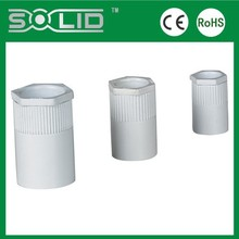 Pvc plastic male female coupler