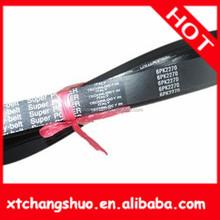classic banded c section v-belts good quality neoprene fan belt