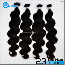 Hot New Products 2016 Factory Price Ready Delievery Double Weft xbl hair 100% human hair