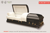 PRESIDENT wooden funeral casket and coffin beds from china manufacturers