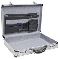 Silver Polished Business Aluminium Brief Case, ZYD-TL013