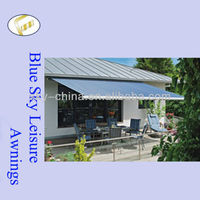 Hot sale auto and motorized acrylic awning mechanism made in China