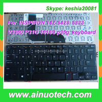 hot selling laptop keyboard for INSPIRON 14Z-5423 5323 V3360 P31G 1618S p35g US RU laptop Keyboard Backlight