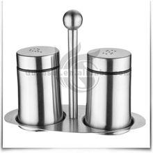 3PCS Stainless Steel Custom Salt Pepper Cruet Set