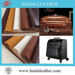 pvc/pu leather for sofa and household furniture made in Wuxi China