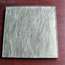 colored safety toughened laminated wired building glass for window