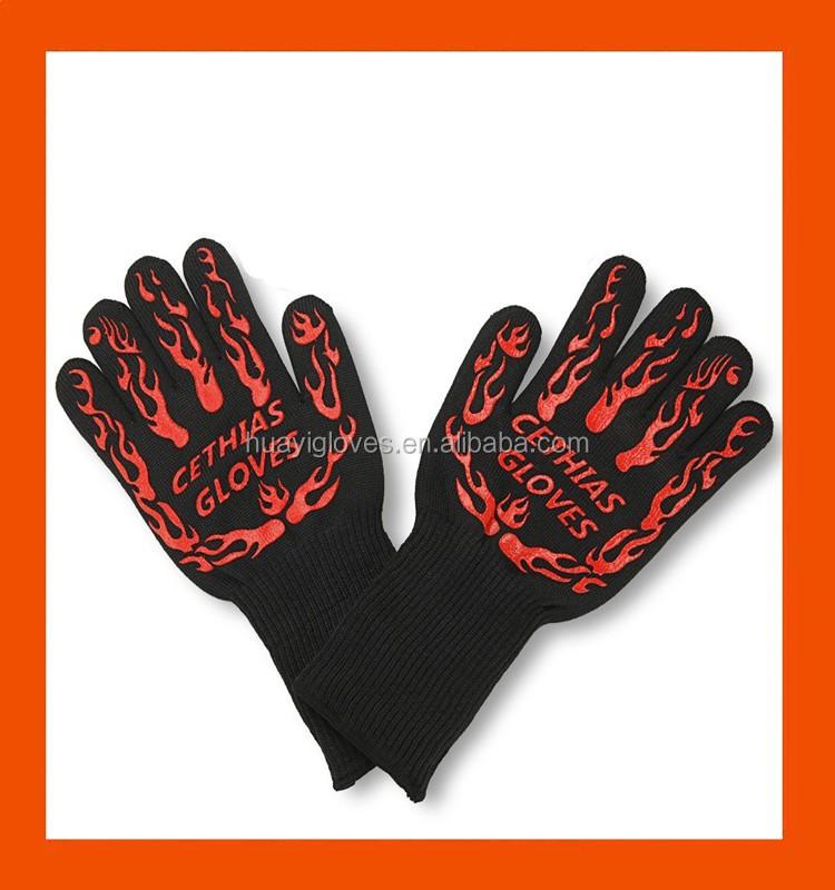 Amazon de silicium r sistant la chaleur gants de cuisine - Ciment resistant a la chaleur ...