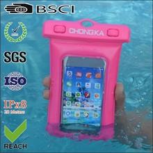 diving swimming pvc waterproof bag for mobile phone