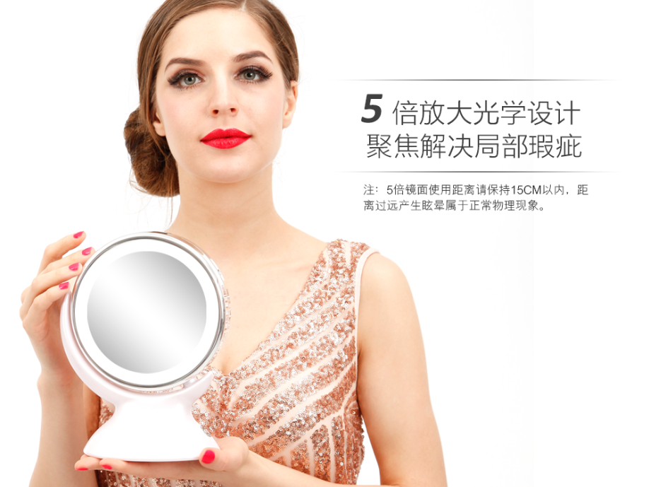 best prices wholesale cheap bathroom portable lighted led makeup mirror for sell