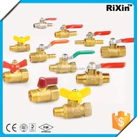"""RX 1170 1/4"""" comp ends ball valve 1/4"""" cupc lf brass solder ball valve 1/4"""" ball valve 6000psi"""