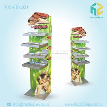 High quality custom chocolate e paper display stand hot new products for 2015 chocolate stand display