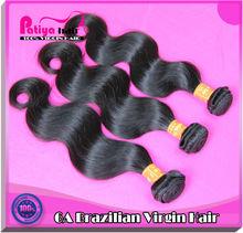 Hollywood and delicate virgin brazilian hair,brazilian body wave hair