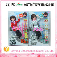 2015 Hot Sport Life Sized Love Doll With Skiing Accessoires