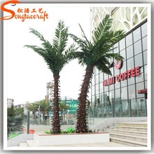 Outdoor palm tree artificial ornamental palm tree palm tree bark