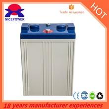 2v1500Ah OPZV 1500-2 battery deep cycle solar battery