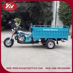 Africa popular Guangzhou KAVAKI brand cheap good price three-wheel motorcycle factory
