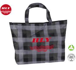 Durable Eco Oxford Handled Zipper Waterproof Duffle Bag For Beach