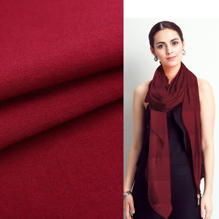Proveedor de China rojo teñido de bufanda tussores de <span class=keywords><strong>bengaline</strong></span> tela