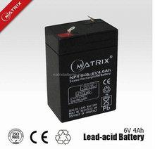 solar batteries dry cell cctv system battery 6v4ah