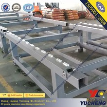 high precision cnc machining welding machine frame