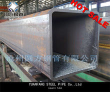 hollow section precision seamless square steel tube large diameter