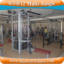 life fitness gym station equipment mj8 multi-jungle