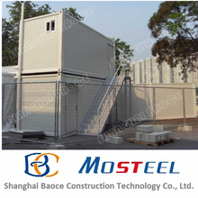 manufacture 20ft well designed prefab container showers and toilets as ablution block in Canada