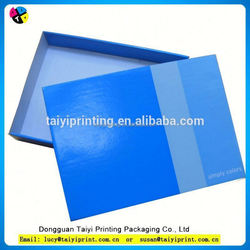 Customized printed cardboard wine carrier box