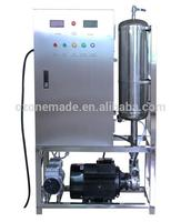 New OEM ozone generator machine built in quartz tank, water pump for cleaning / washing