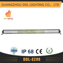 Wholesale 53inch 96pcs*3w high intensity double row 288W LED Light Bar